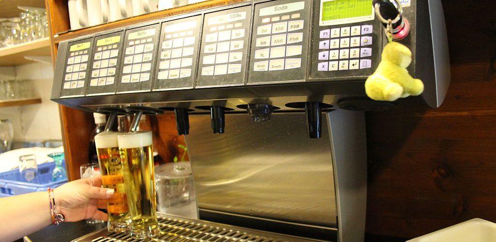 Geniessen Sie das Fyrobe-Bier bei uns