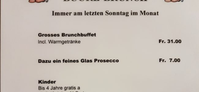 Brunch vom 28. 01. 2018