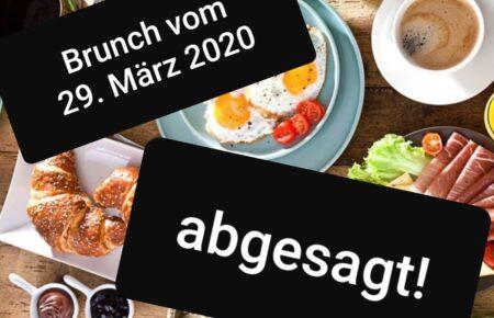 Info zum Brunch am 29. März 2020